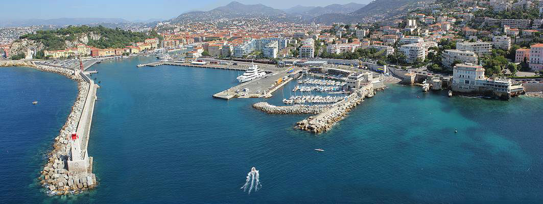 Delve into the history of the Port of Nice Area