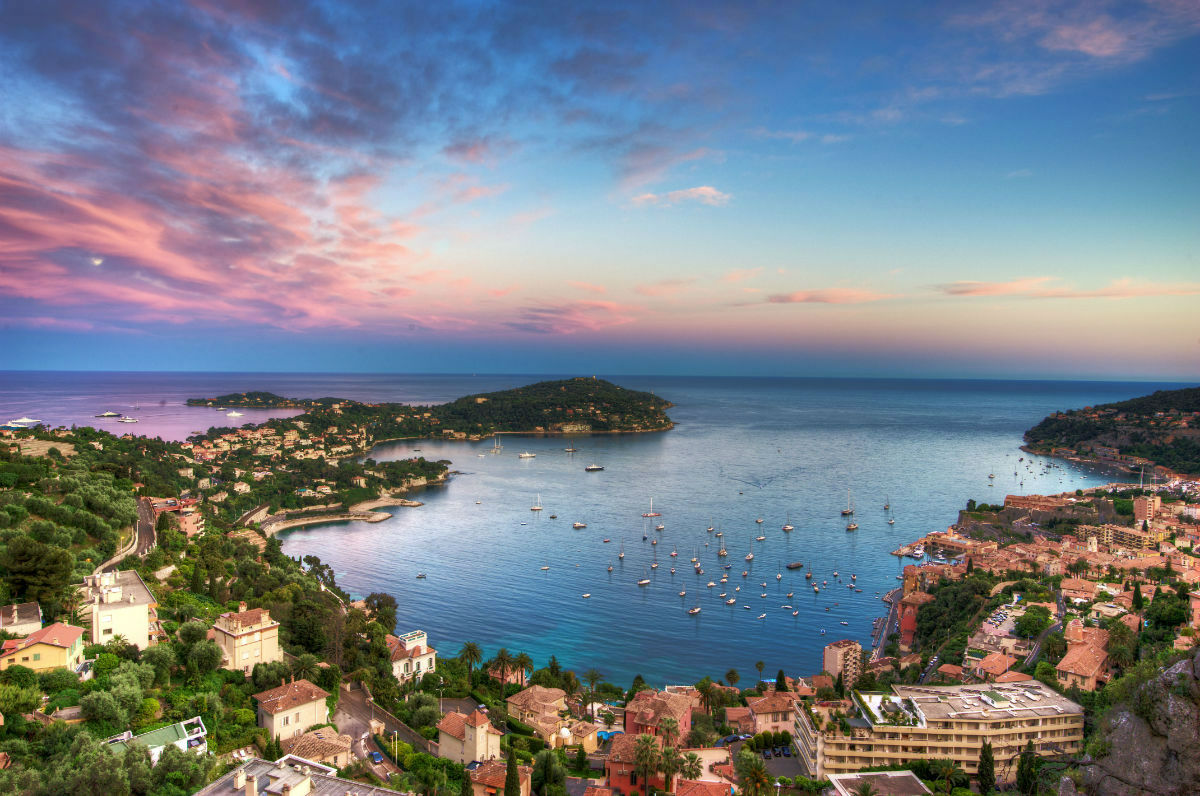 The history of Villefranche sur Mer