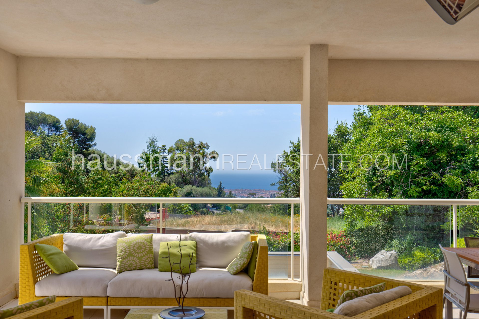 Buying Villa Nice Architect property with sea view