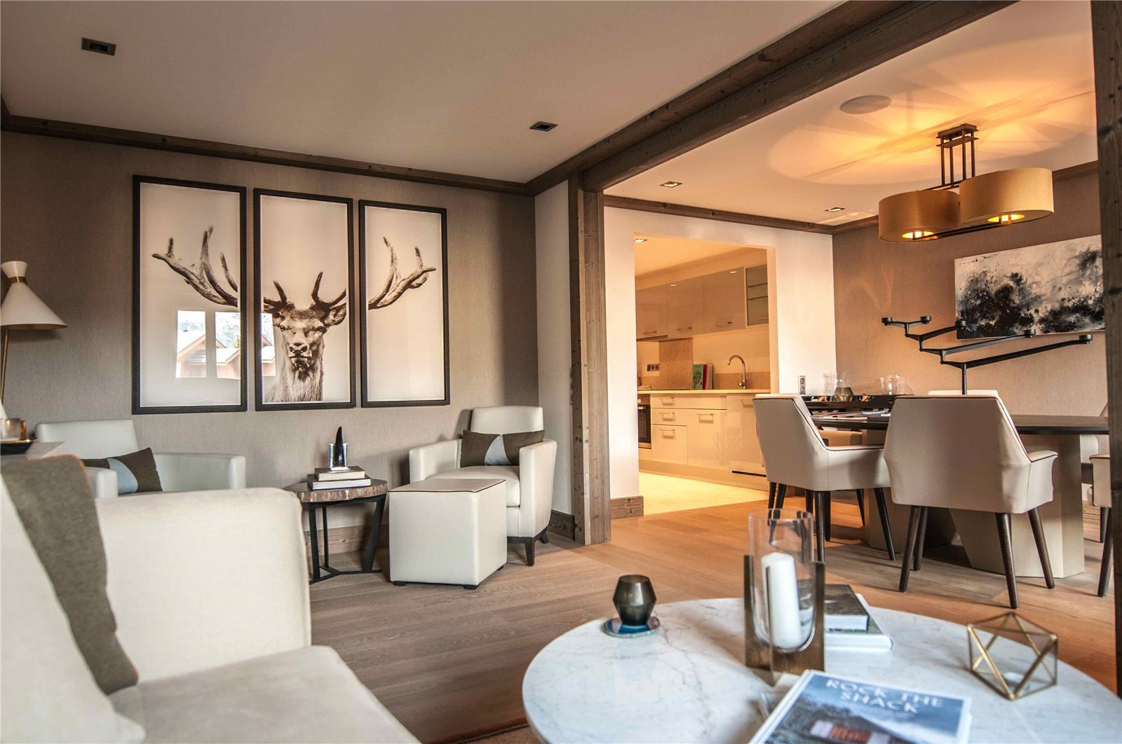 Rental Apartment Courchevel 2 bedroom apartment in Six Senses Residence, located in the centre of the resort and perfectly situated for the ski slopes.