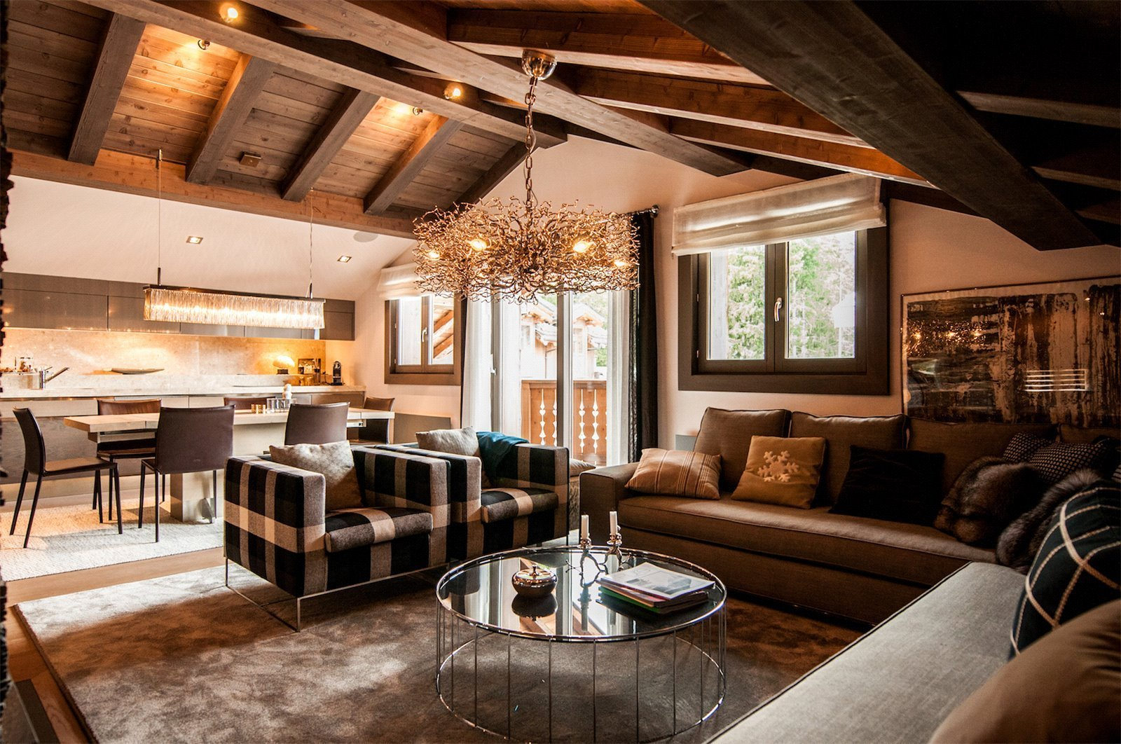 Buying Villa Courchevel Exceptional 3 bedroom apartment in Six Senses Residence.