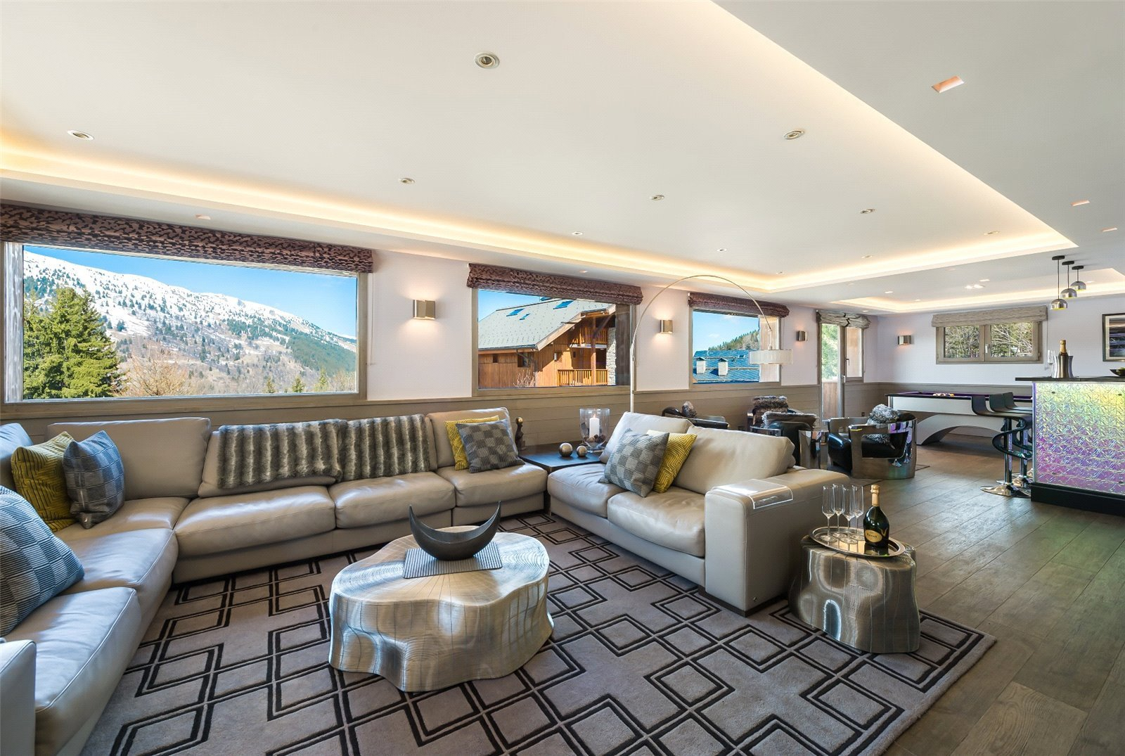 Buying Villa Méribel Exceptional luxury 7 bedroom chalet with spa, ideally situated for the slopes.