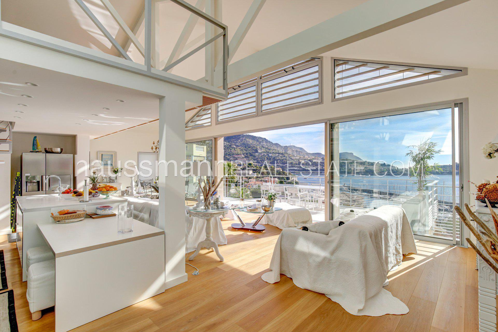 Rental Villa Villefranche-sur-Mer Panoramic sea view house with swimming-pool