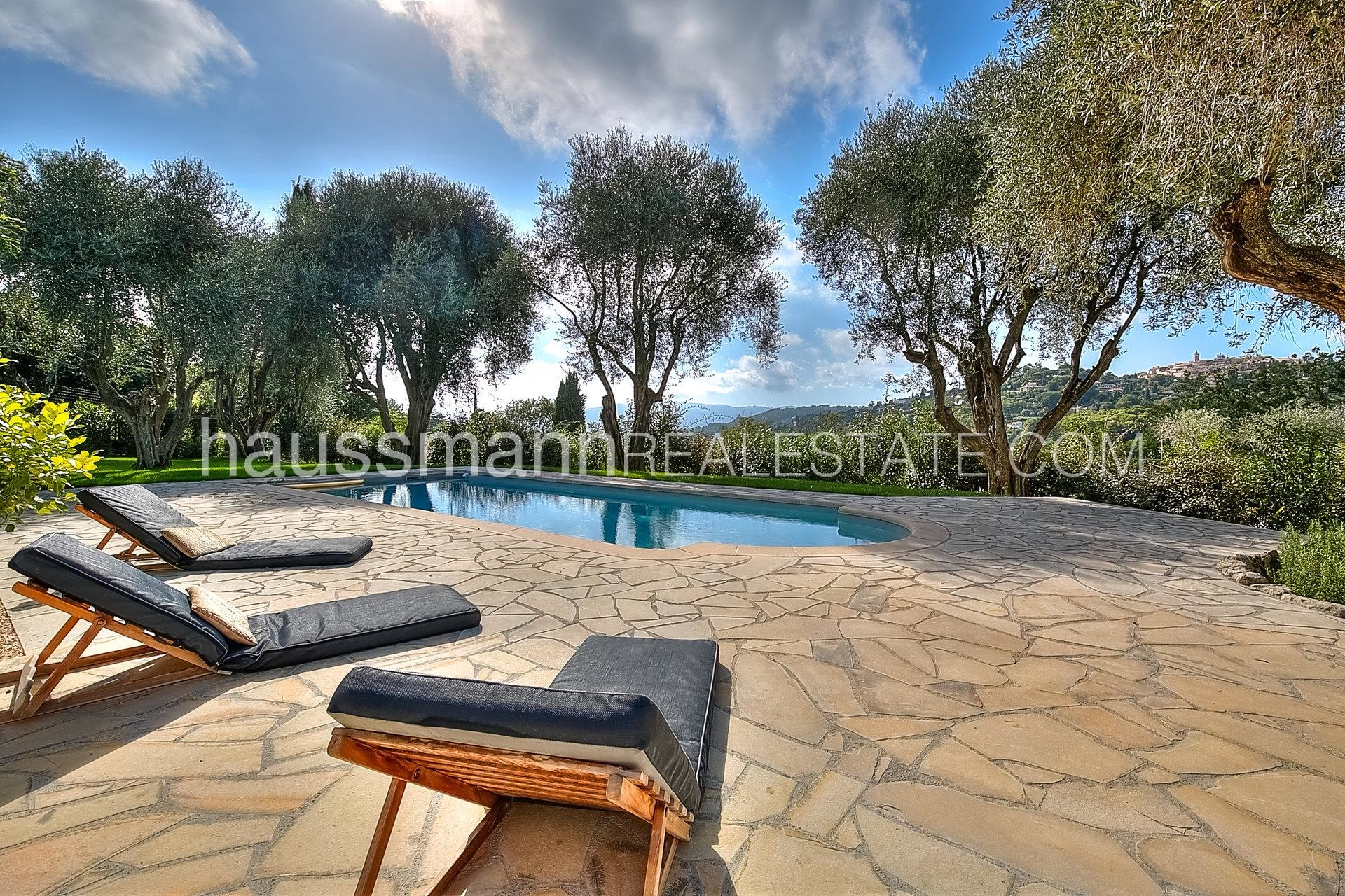 Buying Villa Mougins THE CHARM OF OLIVE TREES