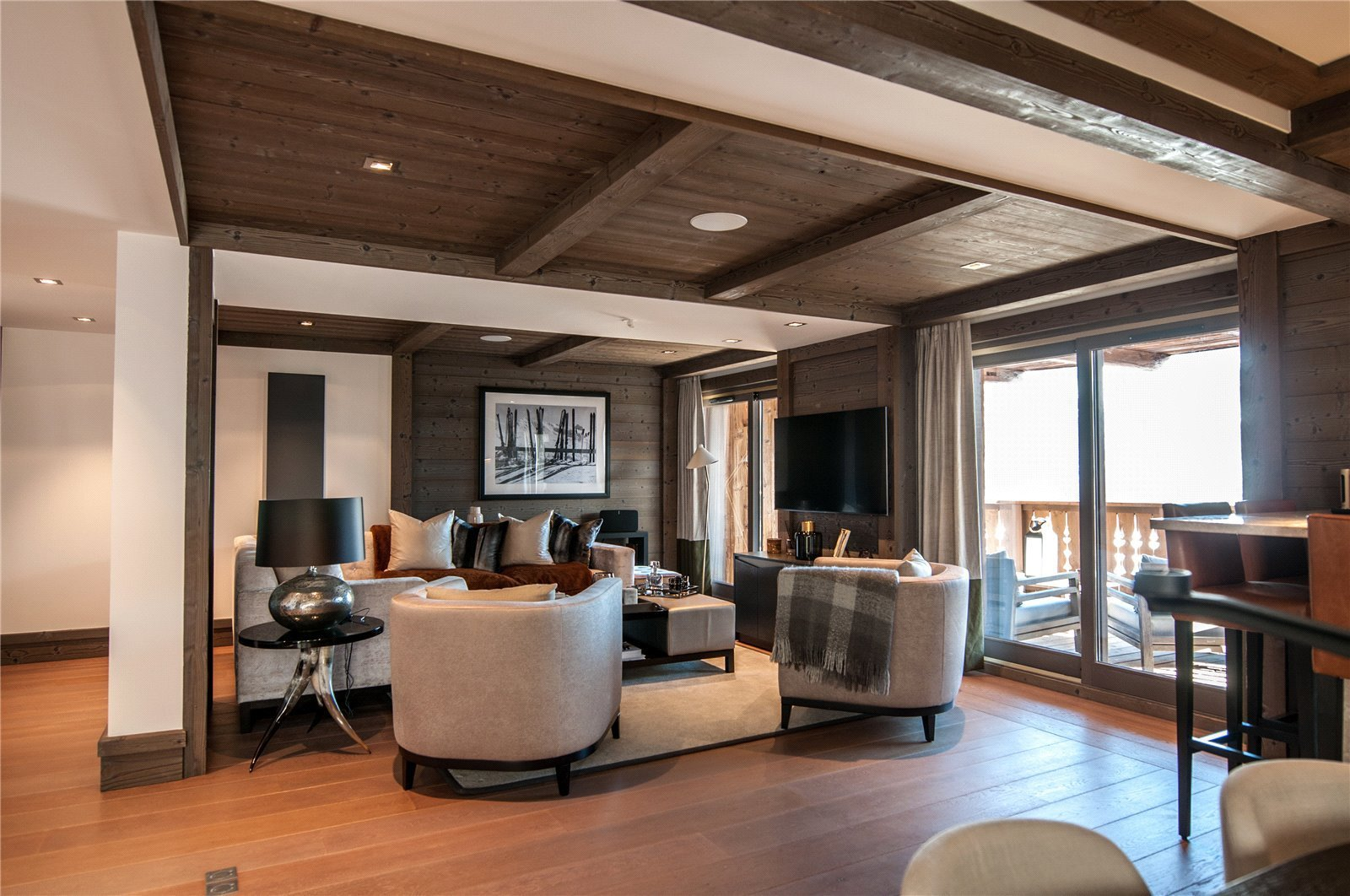 Rental Apartment Courchevel Ideally located for the centre, 3 bedroom apartment within luxury residence Six Senses with spa, pool, gym, concierge.