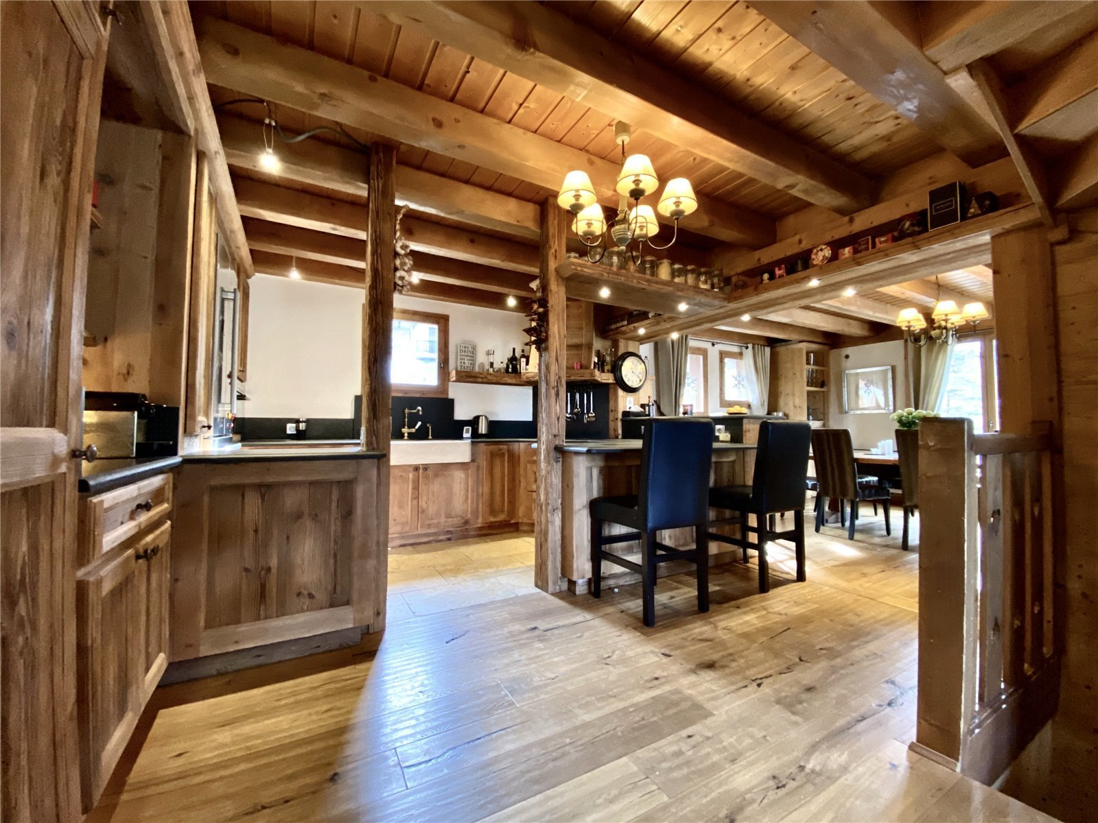Buying Villa Courchevel 5 bedroom chalet with beautiful views in Courchevel 1650, ideally placed for the ski slopes.