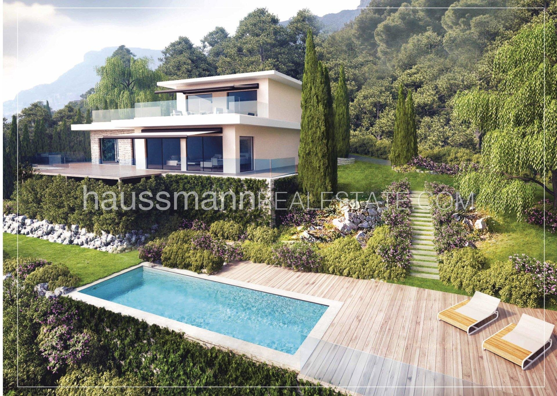 Buying Villa Roquebrune-Cap-Martin Dominant position with sea view