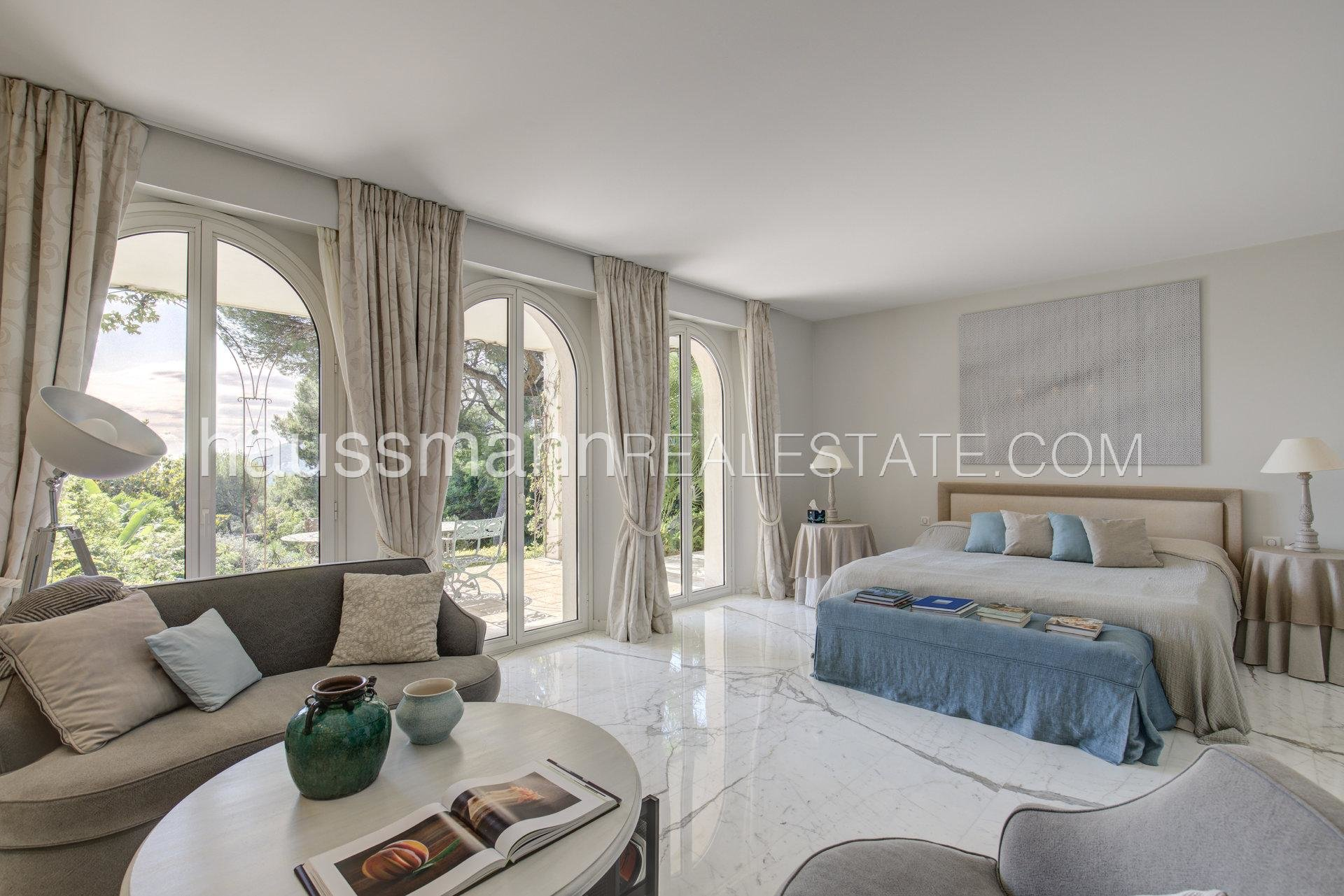 Rental Villa Saint-Jean-Cap-Ferrat Magnificient property with privacy and panoramic sea view