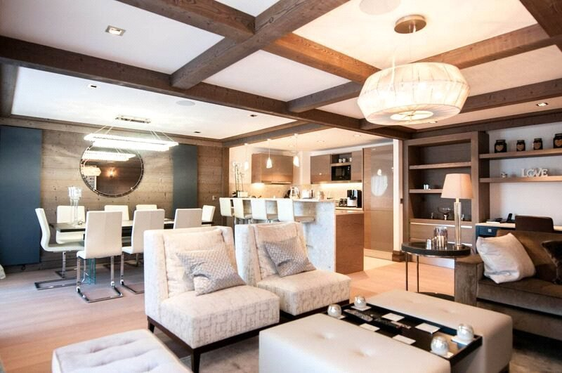 Rental Apartment Courchevel Within a luxury development complete with spa, gym, parking and concierge