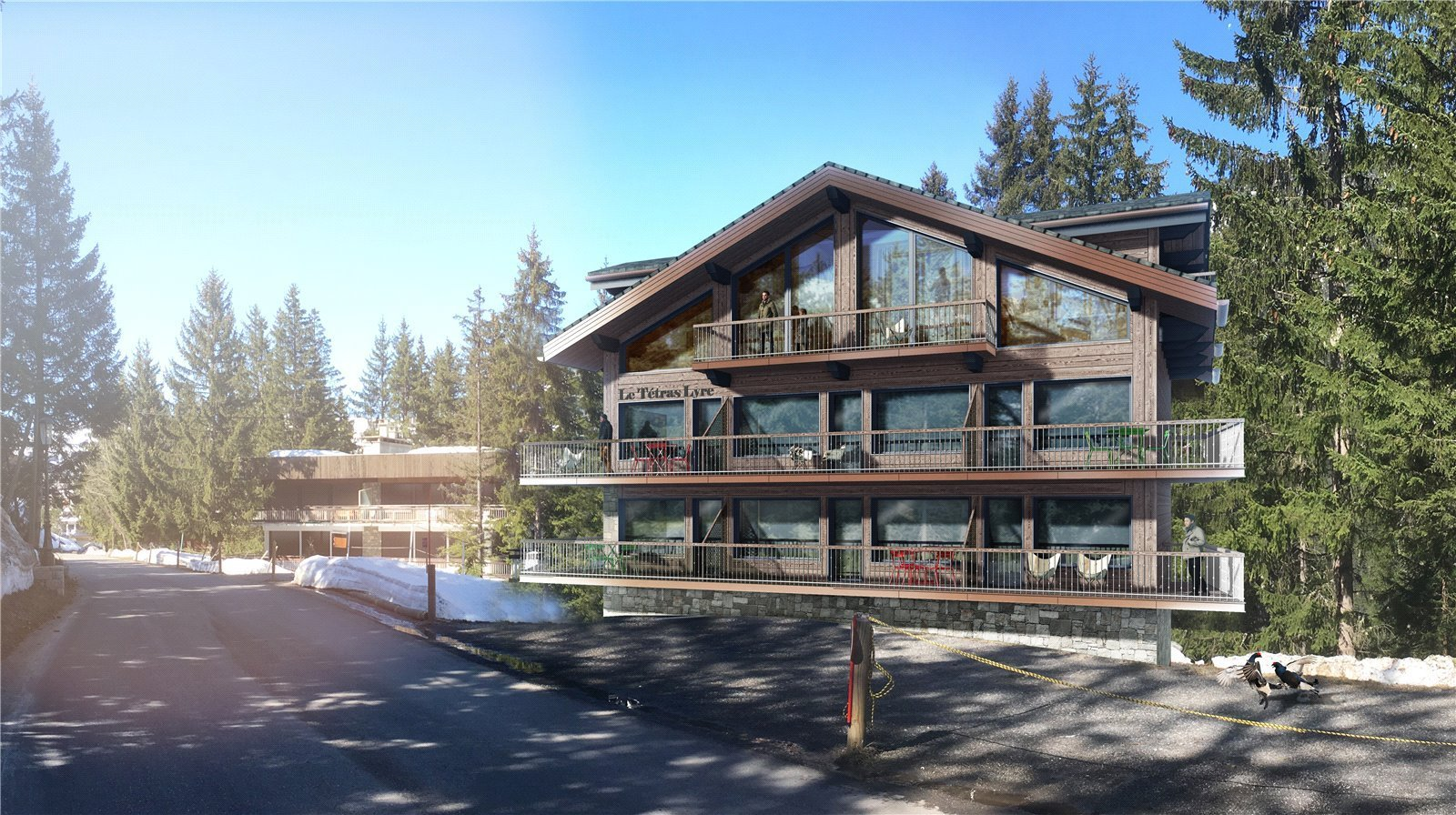 Buying Villa Courchevel Magnificent top floor apartment ideally situated for the ski slopes of Courchevel Moriond, in the prestigious area of Le Belvedere.