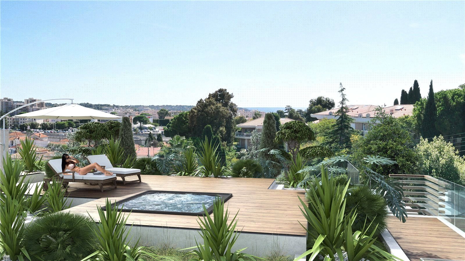 Buying Apartment Antibes Four bedroom penthouse. Available 3rd trimester 2023.